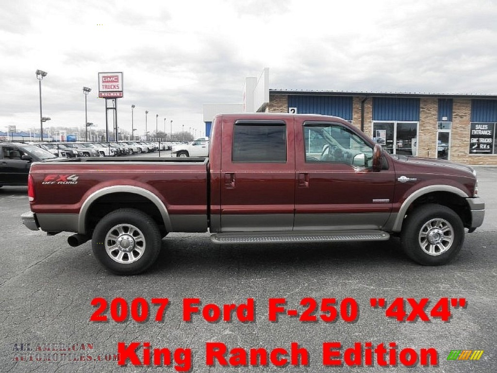 2007 ford f250 super duty king ranch crew cab 4x4 in dark. Black Bedroom Furniture Sets. Home Design Ideas