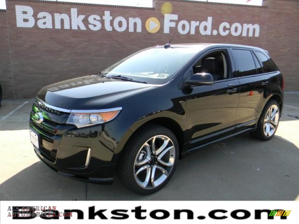 2012 ford edge sport in tuxedo black metallic a80863 all american automobiles buy american. Black Bedroom Furniture Sets. Home Design Ideas