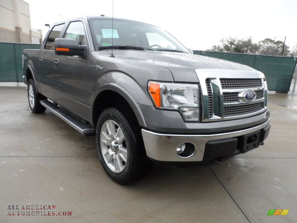 2012 ford f150 lariat supercrew 4x4 in sterling gray metallic a57604 all american. Black Bedroom Furniture Sets. Home Design Ideas
