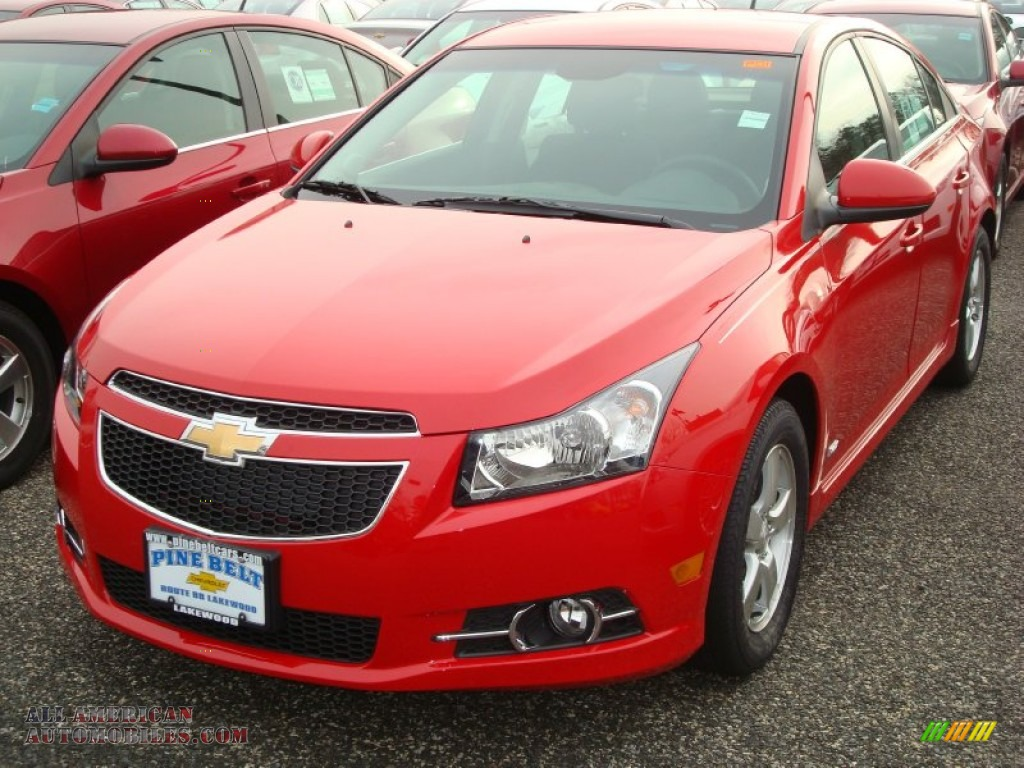 2012 chevrolet cruze lt rs in victory red 253219 all american automobiles buy american. Black Bedroom Furniture Sets. Home Design Ideas