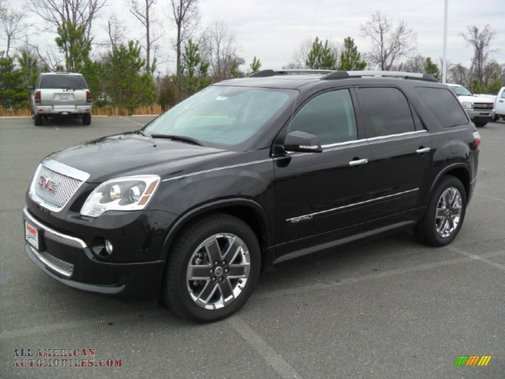 black gmc car acadia tricoat sale denali for in white jet frost awd