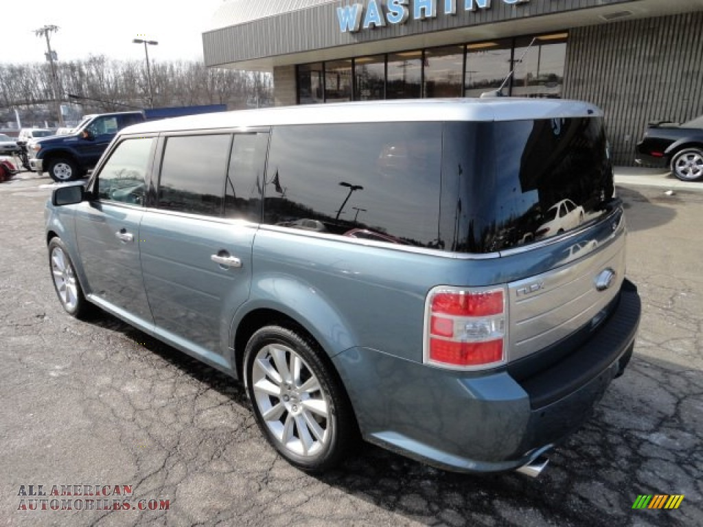 2010 ford flex limited ecoboost awd in steel blue metallic photo 2 a73942 all american. Black Bedroom Furniture Sets. Home Design Ideas