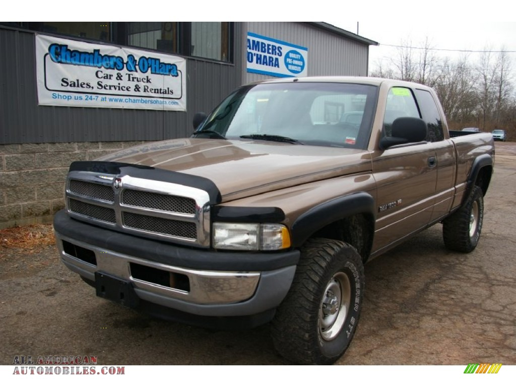 2001 dodge ram 1500 st club cab 4x4 in medium bronze. Black Bedroom Furniture Sets. Home Design Ideas