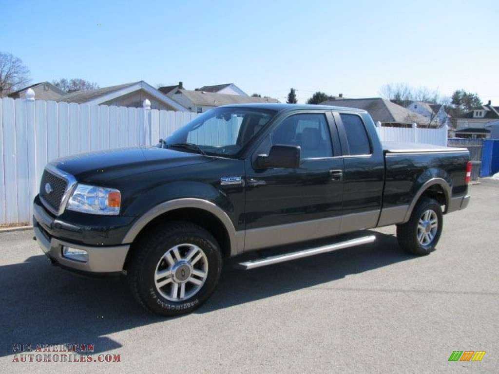 2005 ford f150 lariat supercab 4x4 in aspen green metallic photo 18. Black Bedroom Furniture Sets. Home Design Ideas