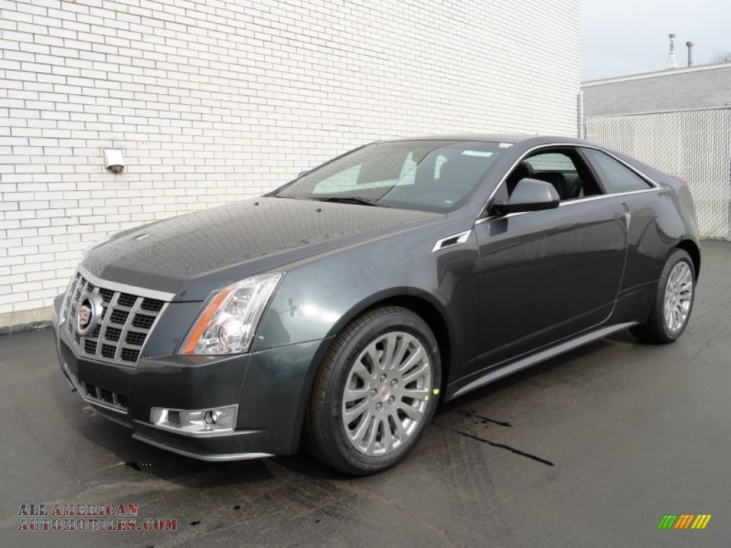 2012 Cadillac Cts 4 Awd Coupe In Thunder Gray Chromaflair