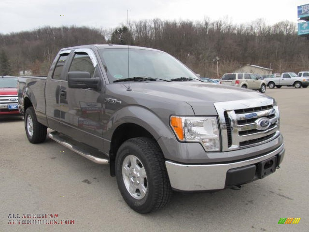 2010 ford f150 xlt supercab 4x4 in sterling grey metallic photo 4 d02805 all american. Black Bedroom Furniture Sets. Home Design Ideas