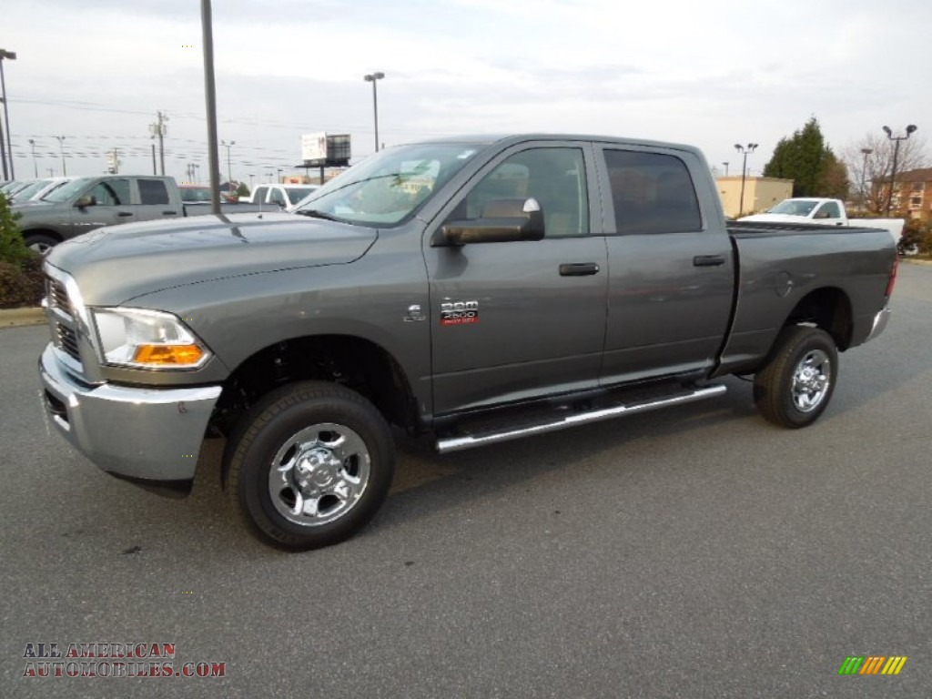 2012 dodge ram 2500 hd st crew cab 4x4 in mineral gray metallic 185430 all american. Black Bedroom Furniture Sets. Home Design Ideas