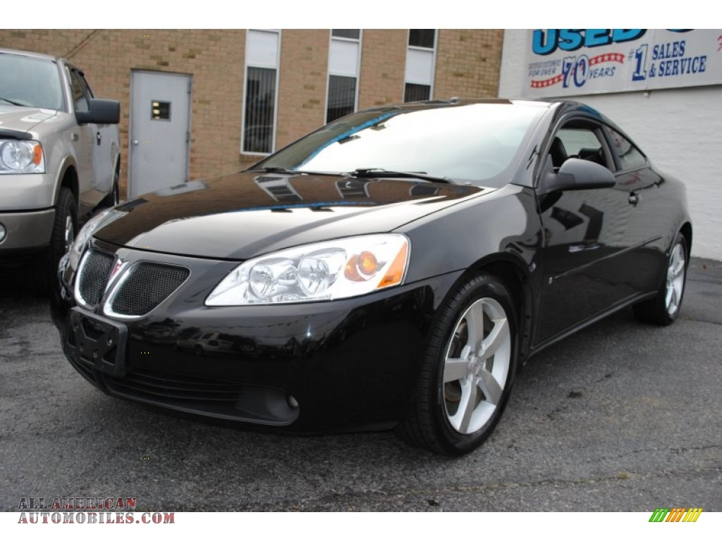 Black / Ebony Pontiac G6 GTP Coupe
