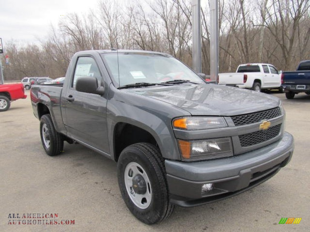 2012 chevrolet colorado work truck regular cab 4x4 in dark gray metallic photo 5 139708 all. Black Bedroom Furniture Sets. Home Design Ideas