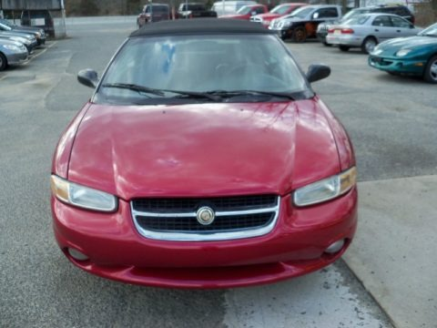 Candy Apple Red Metallic 1998 Chrysler Sebring JXi Convertible