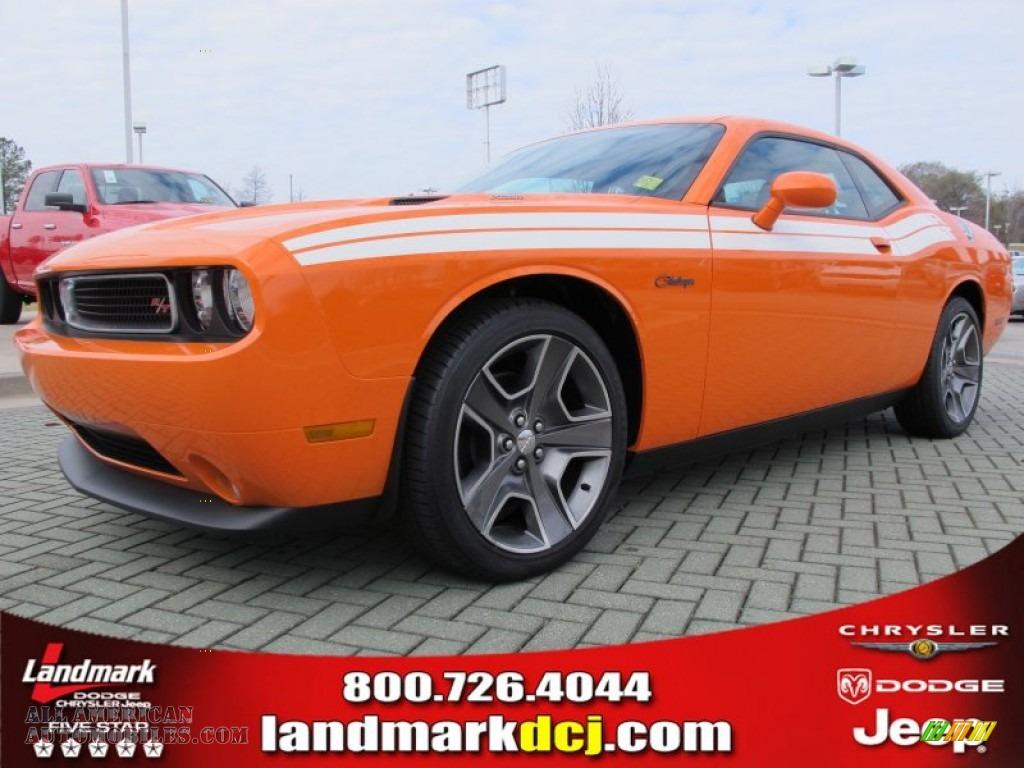 2012 Dodge Challenger R T Classic In Header Orange