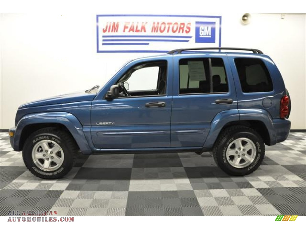 2004 jeep liberty limited 4x4 in atlantic blue pearl. Black Bedroom Furniture Sets. Home Design Ideas
