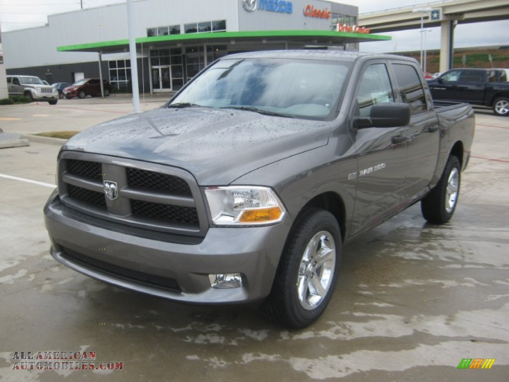 2012 dodge ram 1500 express crew cab in mineral gray metallic 228608. Cars Review. Best American Auto & Cars Review