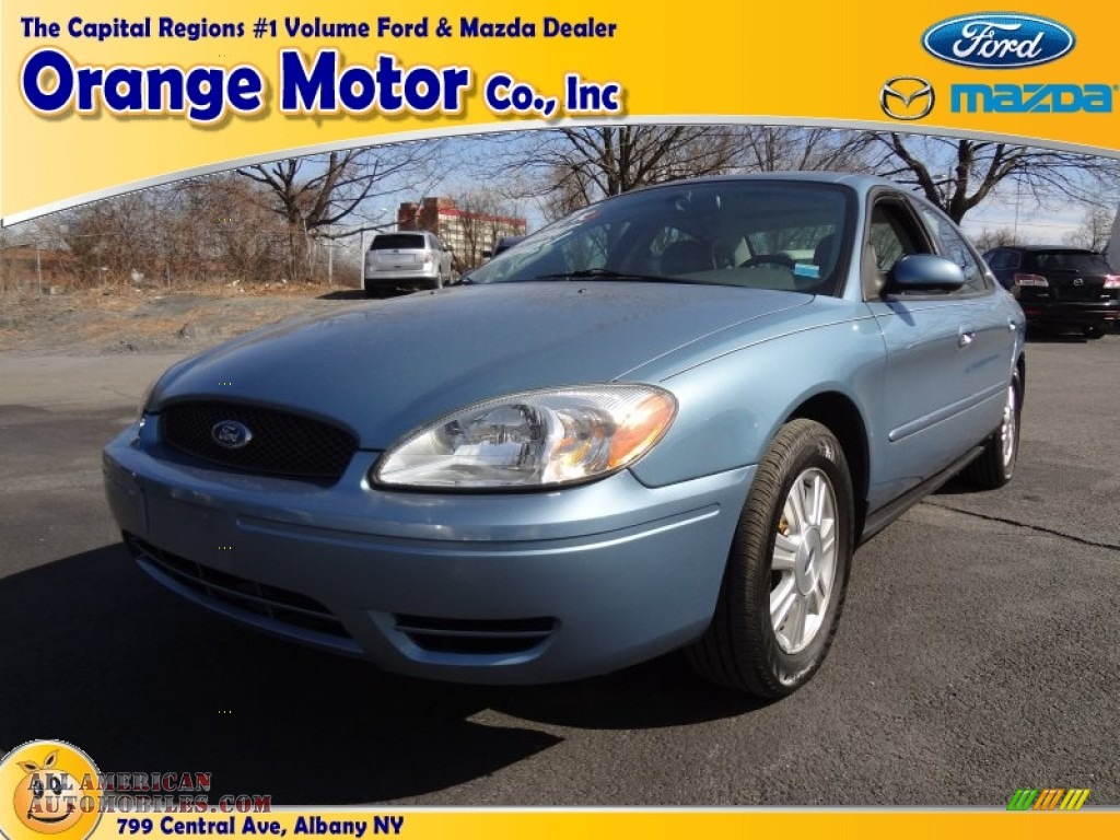 2007 ford taurus sel in windveil blue metallic 133368 for Orange motors albany new york