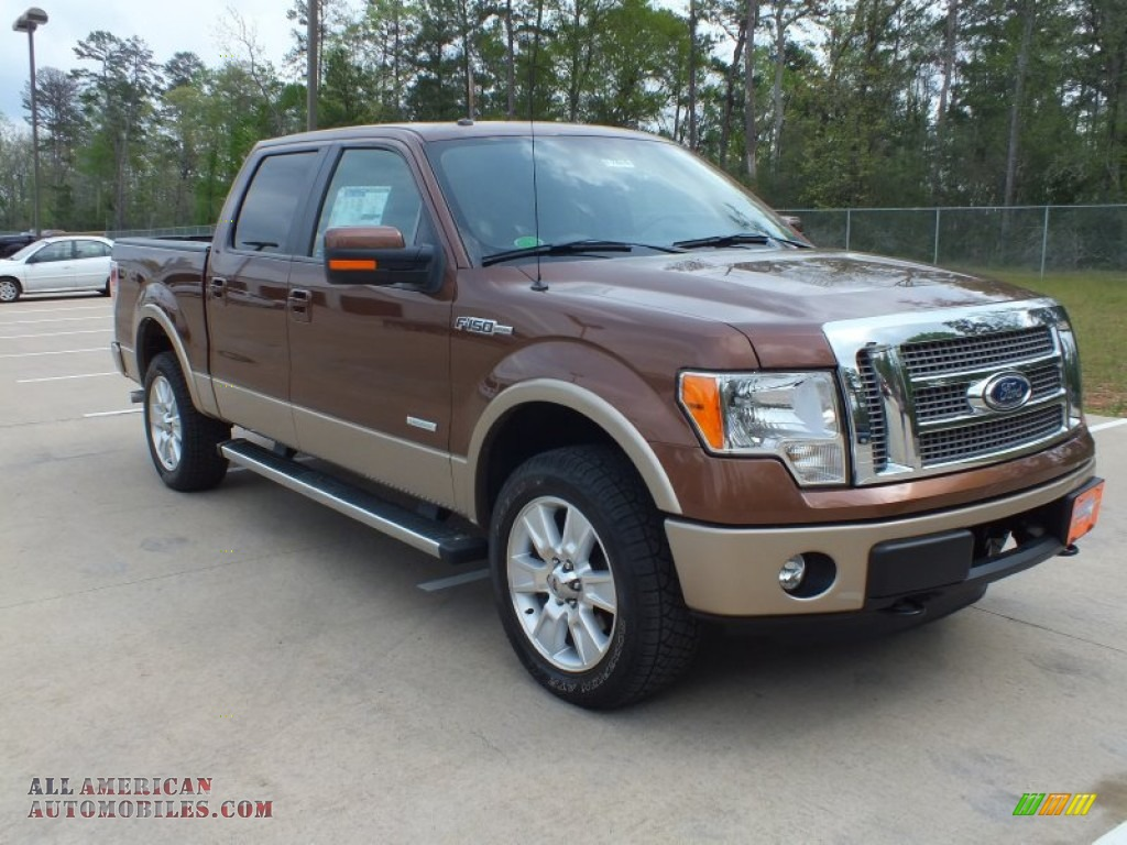 2012 ford f150 lariat supercrew 4x4 in golden bronze metallic a85475 all american. Black Bedroom Furniture Sets. Home Design Ideas