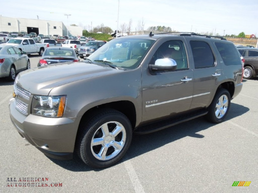 2012 chevrolet tahoe ltz 4x4 in mocha steel metallic 237916 all american automobiles buy. Black Bedroom Furniture Sets. Home Design Ideas