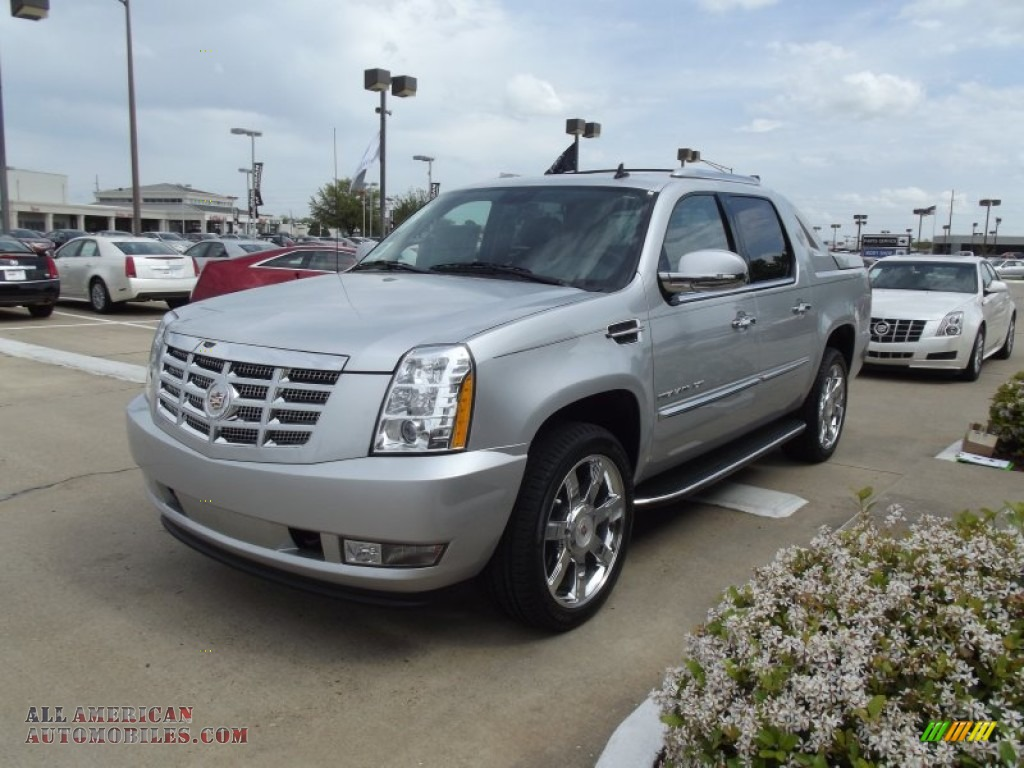 2012 Cadillac Escalade Ext Luxury Awd In Radiant Silver