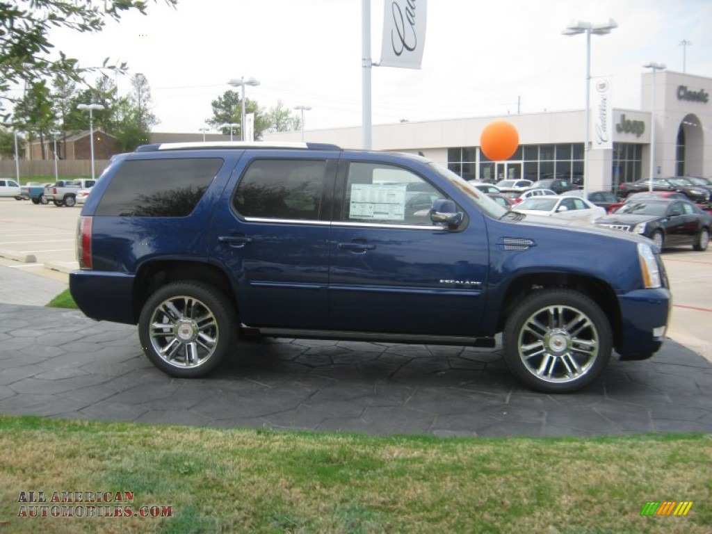 2012 cadillac escalade premium in xenon blue metallic. Black Bedroom Furniture Sets. Home Design Ideas