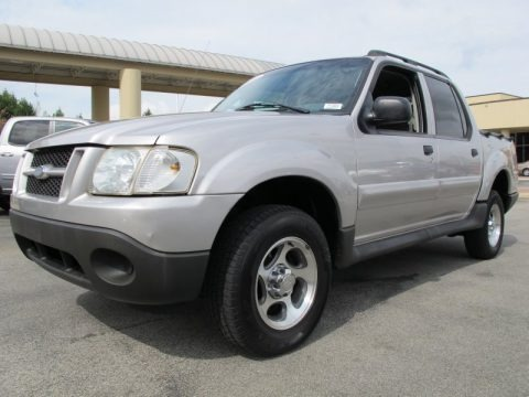 Silver Birch Metallic 2005 Ford Explorer Sport Trac XLT