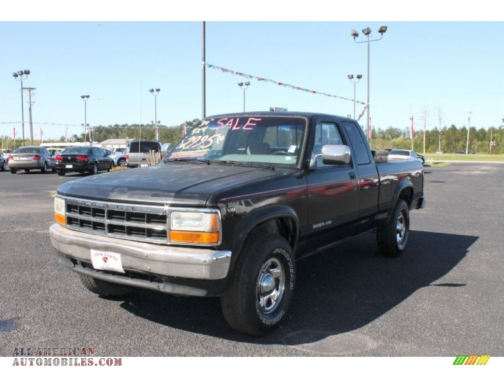 1994 dodge dakota slt extended cab 4x4 in black 714395 for Steve white motors inc