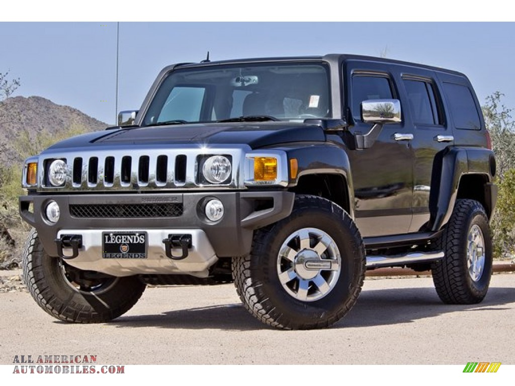 2008 hummer h3 alpha in black 126494 all american automobiles buy american cars for sale. Black Bedroom Furniture Sets. Home Design Ideas