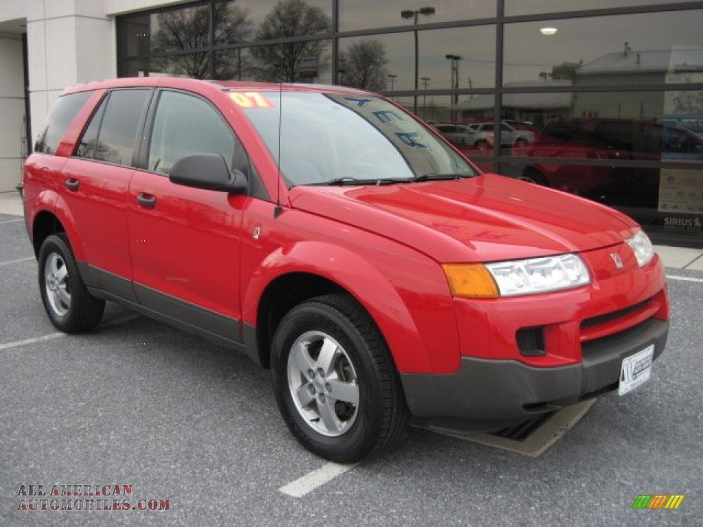 2005 Saturn Vue In Chili Pepper Red 859962 All