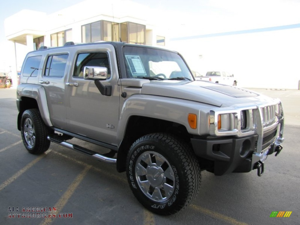 2007 hummer h3 in boulder gray metallic 174881 all american automobiles buy american cars. Black Bedroom Furniture Sets. Home Design Ideas