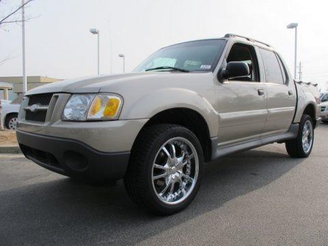 Pueblo Gold Metallic 2005 Ford Explorer Sport Trac XLT