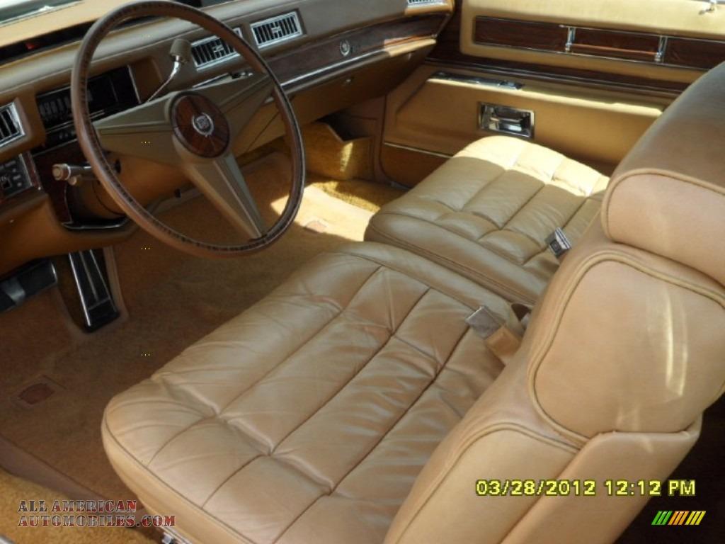 1976 Cadillac Eldorado Convertible Calumet Cream Autos Post