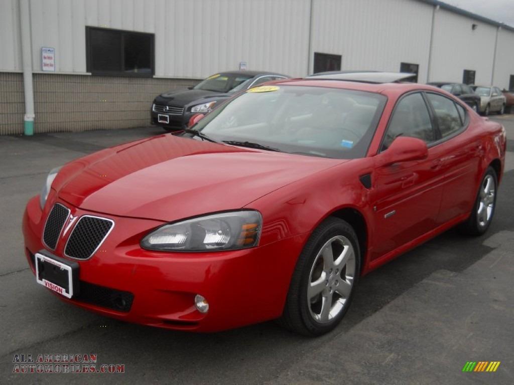 2008 pontiac grand prix gxp sedan in crimson red 175449 all american automobiles buy. Black Bedroom Furniture Sets. Home Design Ideas