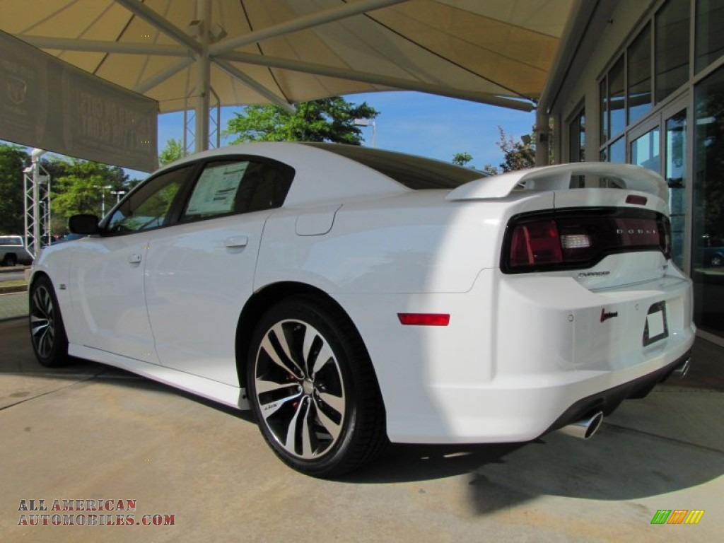 2012 Dodge Charger SRT8 in Bright White photo 3  228585  All