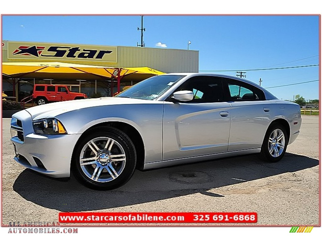 2011 dodge charger rallye in bright silver metallic 613365 all american automobiles buy. Black Bedroom Furniture Sets. Home Design Ideas