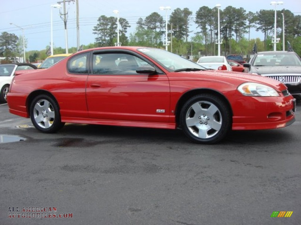 2006 chevrolet monte carlo ss in victory red photo 3 265283 all american automobiles buy. Black Bedroom Furniture Sets. Home Design Ideas