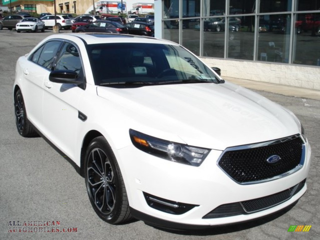 2013 ford taurus sho awd in white platinum tri coat photo 2 101490 all american automobiles. Black Bedroom Furniture Sets. Home Design Ideas