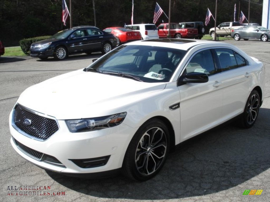2013 ford taurus sho awd in white platinum tri coat photo 4 101490 all american automobiles. Black Bedroom Furniture Sets. Home Design Ideas