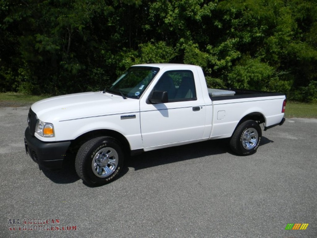 2008 ford ranger xl regular cab in oxford white a45399 all american automobiles buy