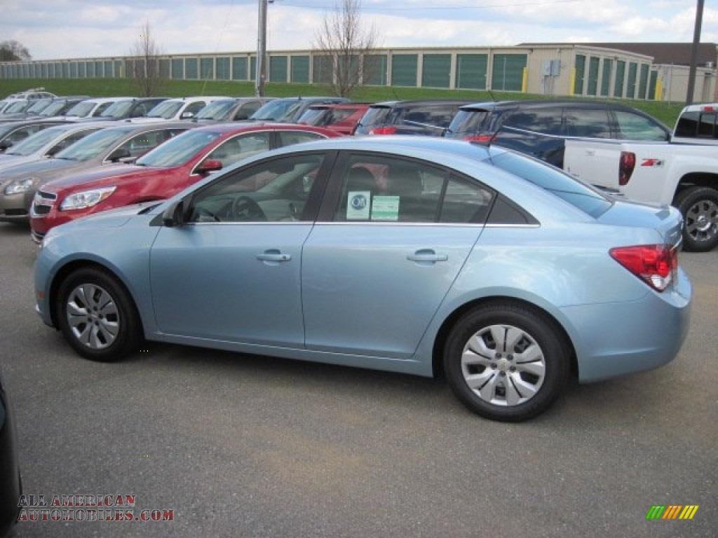 2012 Chevrolet Cruze Ls In Ice Blue Metallic 293811