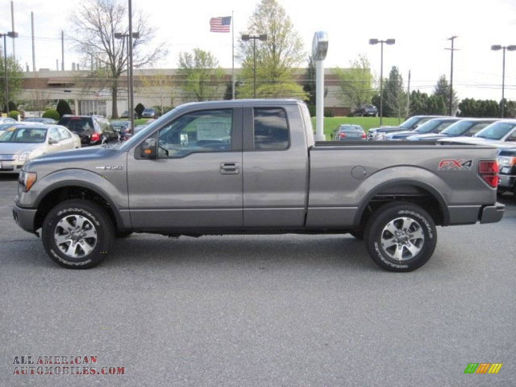 2012 ford f150 fx4 supercab 4x4 in sterling gray metallic a93068 all american automobiles. Black Bedroom Furniture Sets. Home Design Ideas