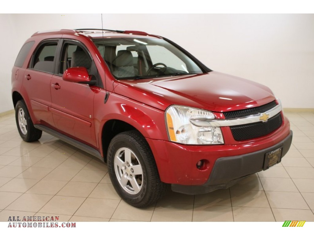 2006 chevrolet equinox lt awd in salsa red metallic. Black Bedroom Furniture Sets. Home Design Ideas