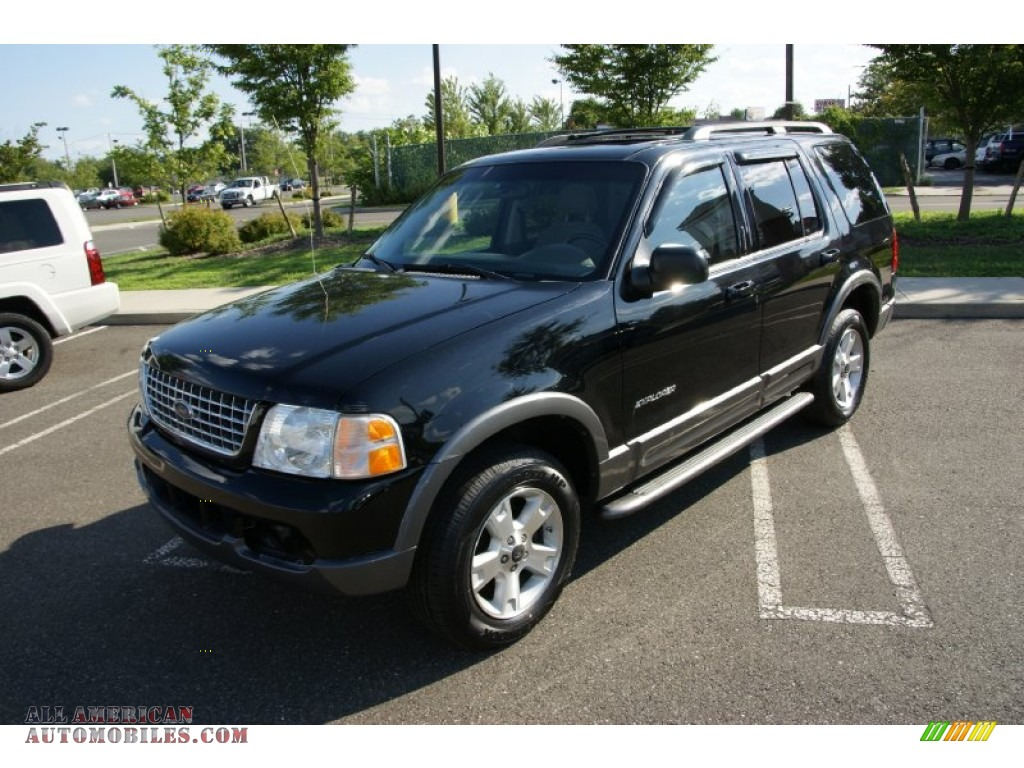 2004 ford explorer xlt 4x4 in black a74463 all american automobiles buy american cars for. Black Bedroom Furniture Sets. Home Design Ideas