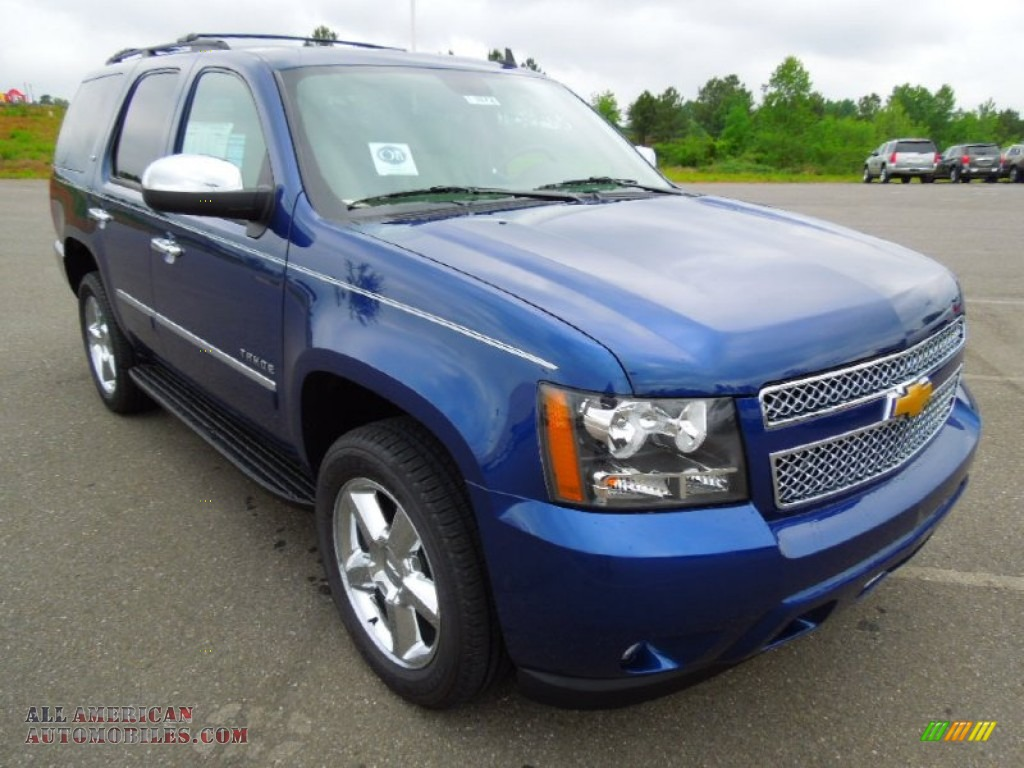 2012 chevrolet tahoe ltz 4x4 in blue topaz metallic photo 2 278495 all american automobiles. Black Bedroom Furniture Sets. Home Design Ideas