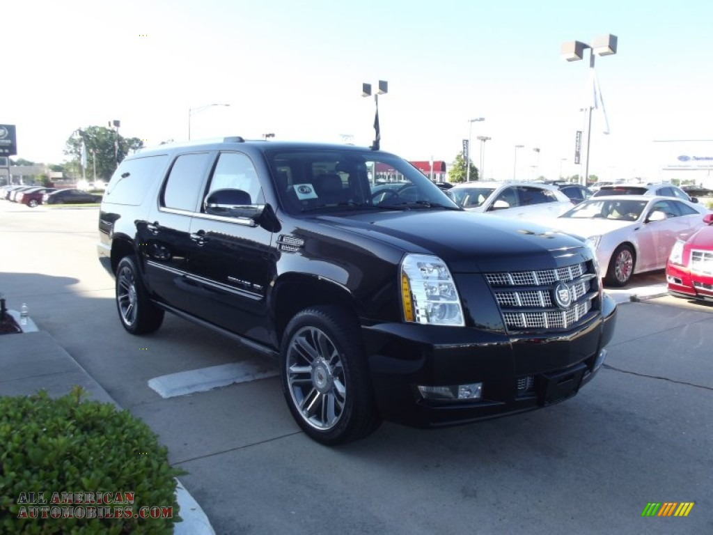 2012 cadillac escalade esv premium in black raven photo 2. Black Bedroom Furniture Sets. Home Design Ideas