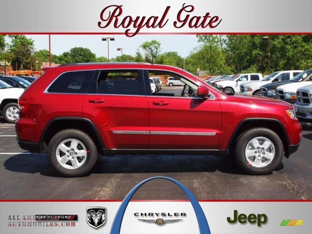 2012 jeep grand cherokee laredo in deep cherry red crystal for Royal chrysler motors inc
