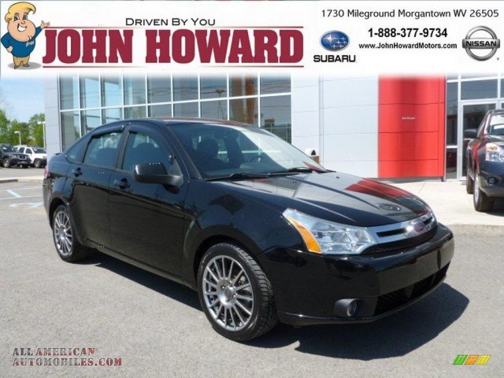 2009 Ford Focus Ses Sedan In Ebony Black 173692 All American Automobiles Buy American Cars