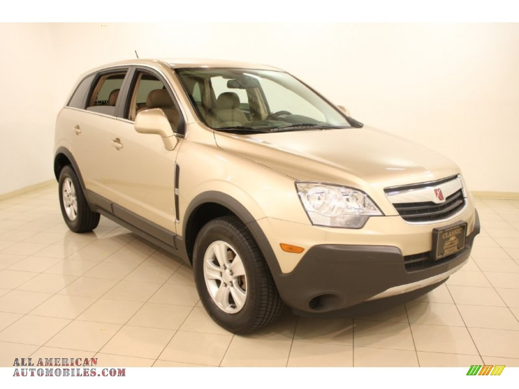 Golden Cashmere / Tan Saturn VUE XE