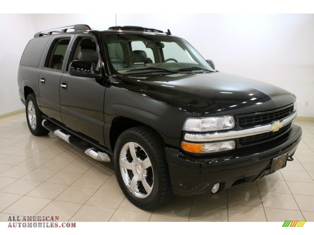 2006 Chevrolet Suburban Ltz 1500 4x4 In Black 171964
