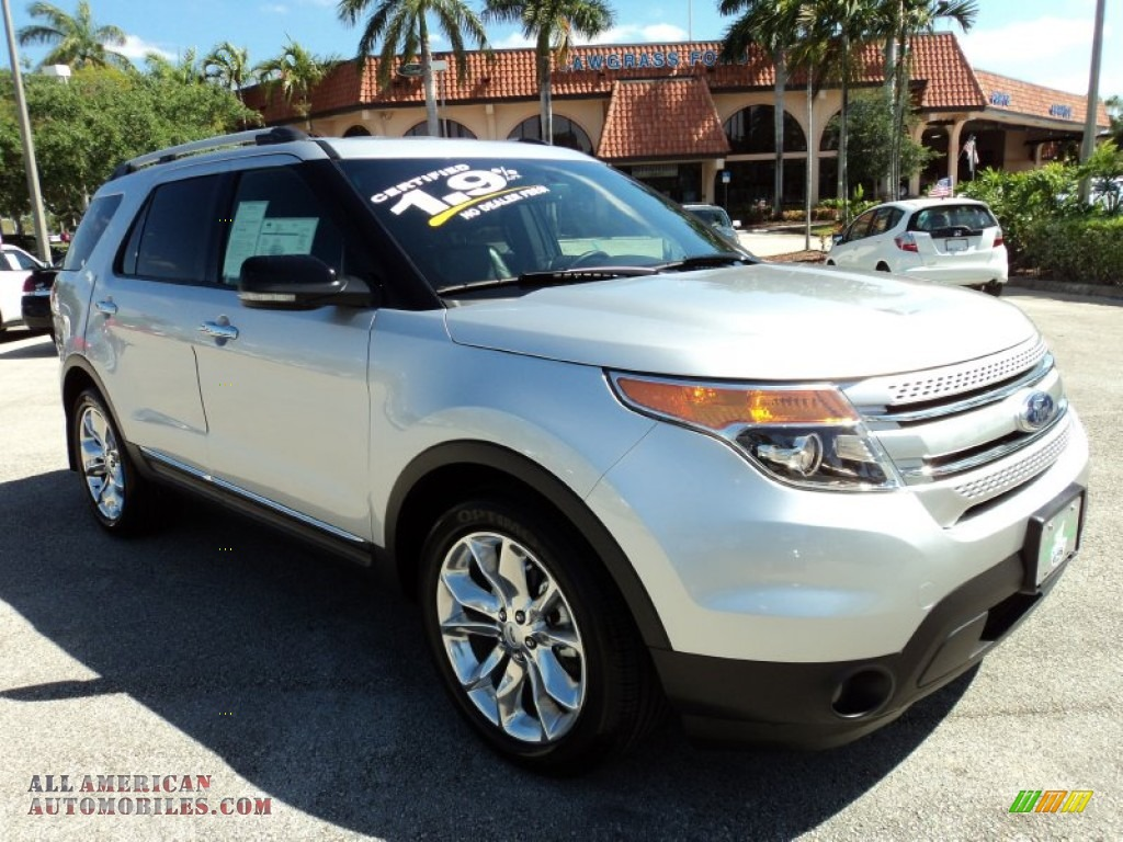 2012 ford explorer xlt in ingot silver metallic a30528 all american automobiles buy. Black Bedroom Furniture Sets. Home Design Ideas