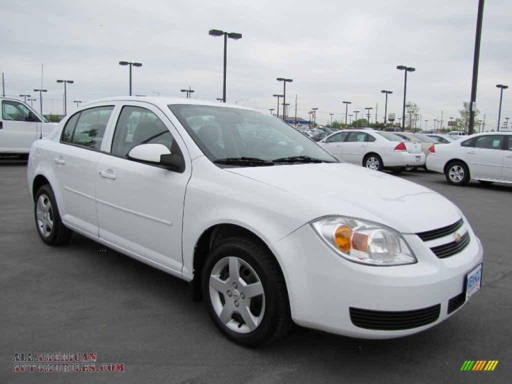 2007 chevrolet cobalt lt sedan in summit white 274684. Black Bedroom Furniture Sets. Home Design Ideas