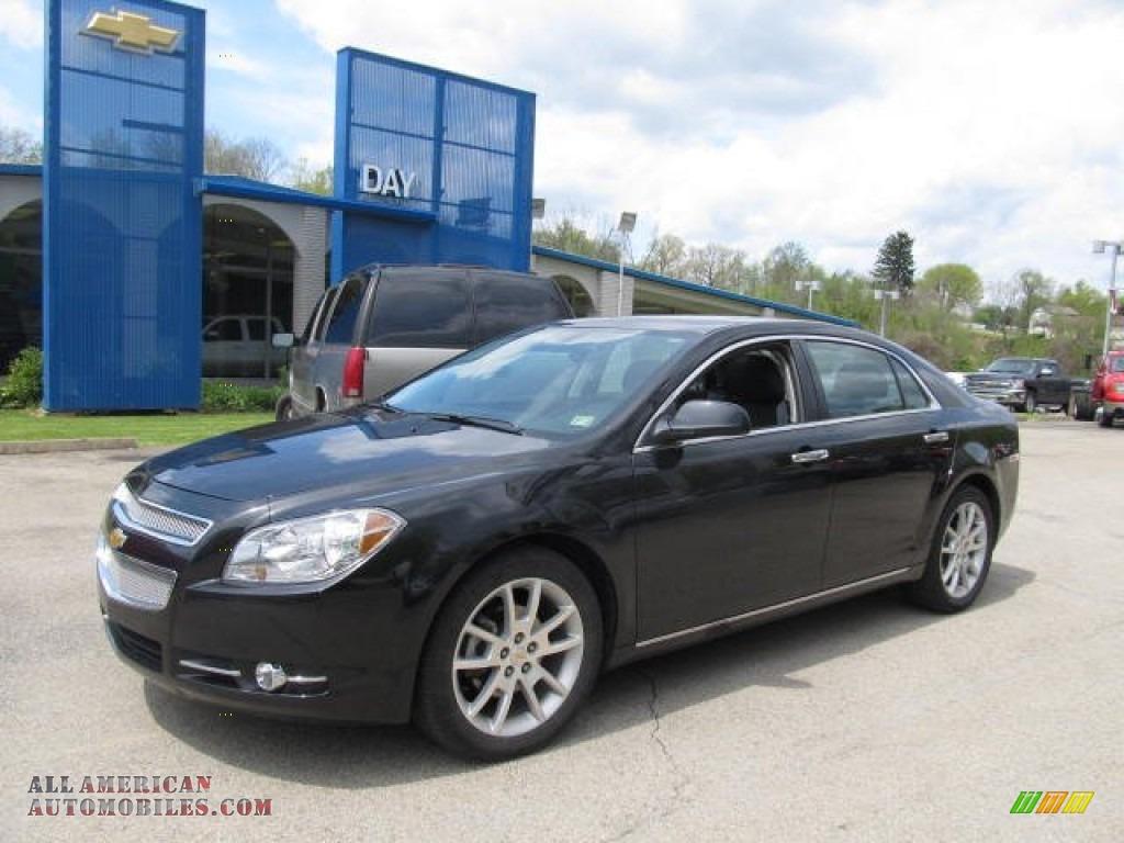 2012 chevrolet malibu ltz in black granite metallic 100195 all american automobiles buy. Black Bedroom Furniture Sets. Home Design Ideas
