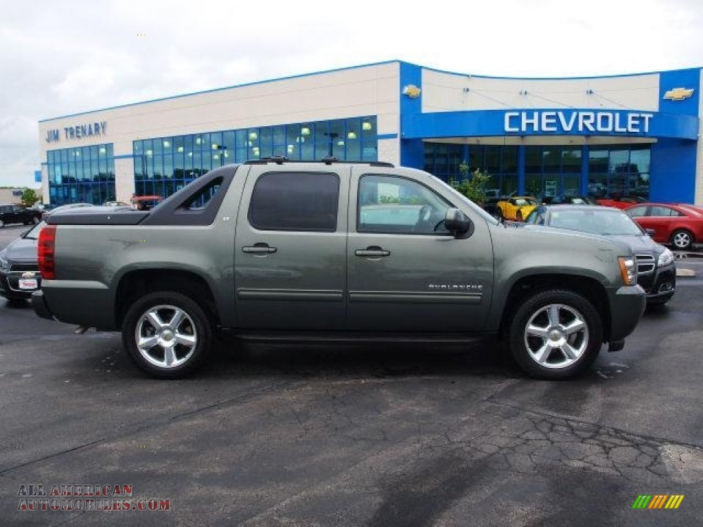 2011 chevrolet avalanche lt 4x4 in steel green metallic 143533 all american automobiles. Black Bedroom Furniture Sets. Home Design Ideas